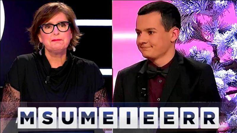 Avec quels chiffres utilisés une seule fois chacun obtient-on 105 ?