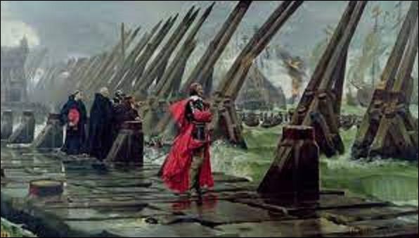10 septembre 1627 : Début du siège de La Rochelle, ordonné par Louis XIII et commandé par le cardinal de Richelieu. Il se terminera par la capitulation de la cité protestante, le 28 octobre 1628. Sur 28 000 Rochelais que comptait la ville au départ, combien survécurent ?