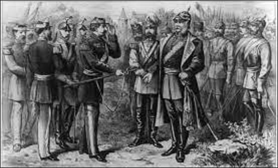 2 septembre 1870 : Dans quelle ville du Grand Est, Napoléon III se constitue-t-il prisonnier aux Prussiens, alors qu'il y est enfermé, ce qui provoquera par la suite la chute du Second Empire ?