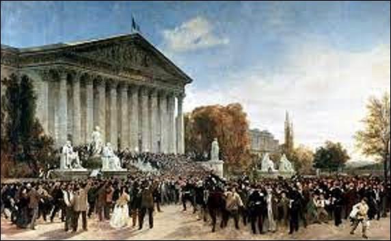 4 septembre 1870 : Proclamation de la IIIe République. Après la défaite de Napoléon III (voir le 2 septembre), des manifestants envahissent le palais Bourbon et réclament la déchéance de l'Empire. Elle est proclamée à la tribune par le député républicain Léon Gambetta. Qui deviendra alors le premier président de la IIIe République le 8 février 1871 ?