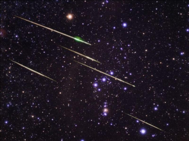 Lesquelles ne sont pas des étoiles filantes ?