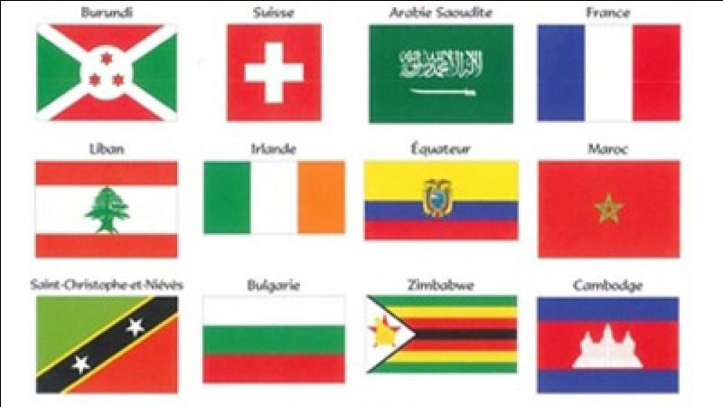 Combien y a-t-il de couleurs sur le drapeau de l'Algérie ?