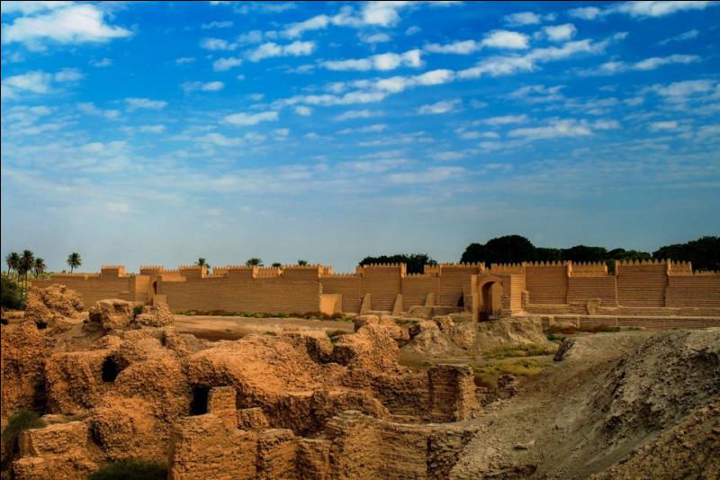 Où serait située la ville de Babylone aujourd'hui ?