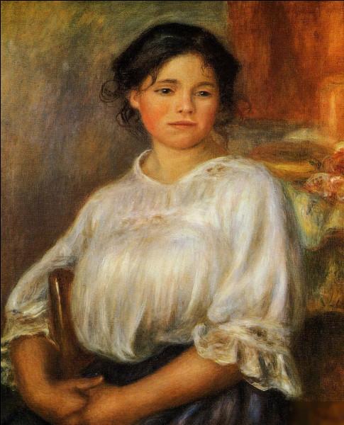 """Qui a peint """"Jeune femme assise"""" ?"""