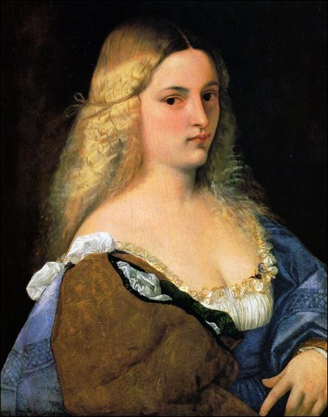"""Quel peintre italien a réalisé """"Violante"""" ?"""