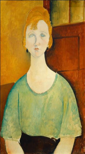 """""""Femme en blouse verte"""" est un tableau de quel peintre ?"""