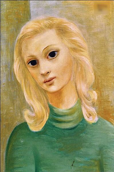 """Qui a peint """"Portrait de jeune fille blonde"""" ?"""