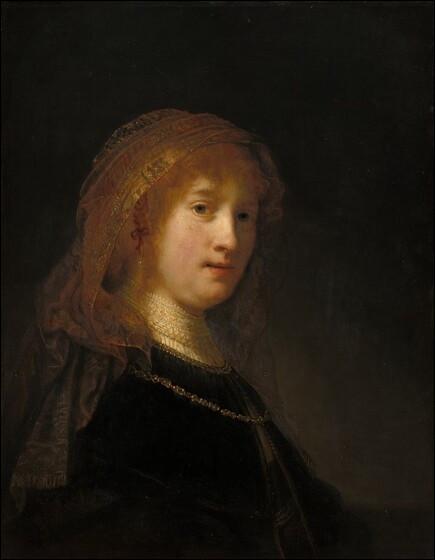 """Quel peintre hollandais du XVIIe a réalisé """"Portrait de Saskia"""" ?"""