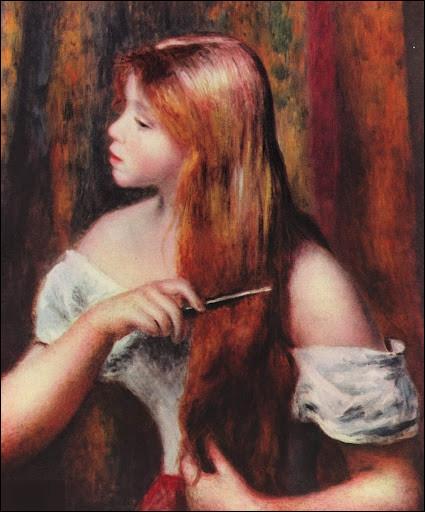 """Quel peintre est l'auteur du tableau """"Femme se peignant"""" ?"""