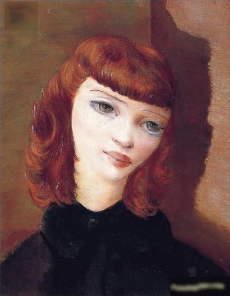 """""""Portrait de femme rousse"""" est un tableau de quel peintre ?"""