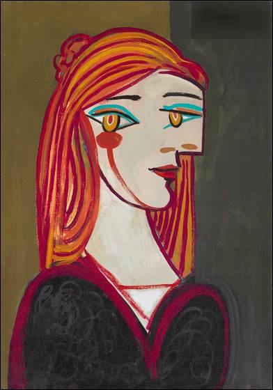 """Qui a réalisé le tableau surréaliste """"Portrait de femme rousse"""" ?"""