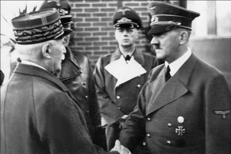 Au sein du régime de Vichy l'on retrouve des Résistants, vrai ou faux ?