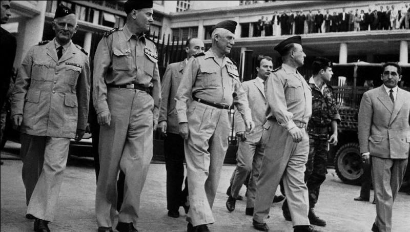 Quand a lieu le putsch des généraux à Alger ?