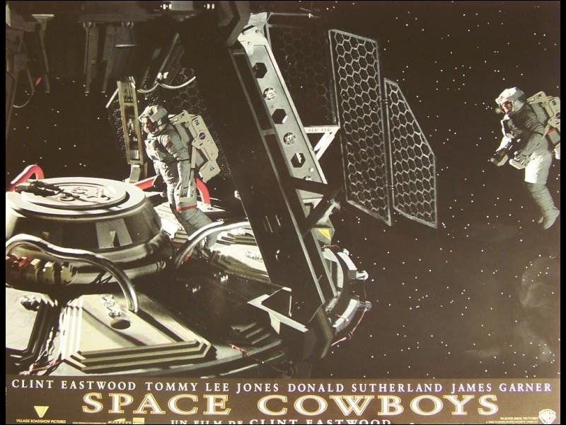 """""""Space Cowboys"""" est le titre d'un film interprété par Tommy Lee Jones."""