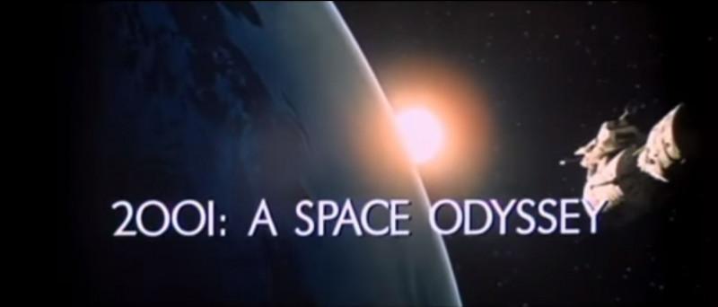 """""""2001, l'Odyssée de l'espace"""" est un film réalisé par Stanley Kubrick."""