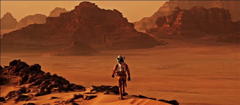 """""""Seul sur Mars"""" est un long-métrage joué par Mathew McConaughey."""