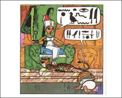 Craignant que les Panthéons grecs, romains, etc. n'y suffisent pas, on a nommé l'astéroïde (2340) du nom d'une déesse égyptienne associée à Vénus. Peut-être [...] ?