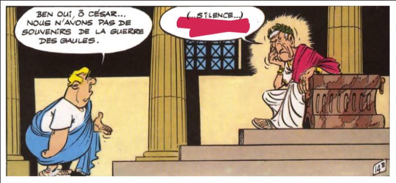 """Il est dit que César, parfois sans commentaire, garde le silence et laisse un court instant """"tourner le C(h)ronos*"""" : il évoque ensuite une planète [...laquelle ?], dans une expression presque identique aujourd'hui."""
