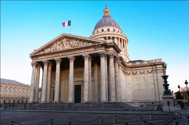 Architecture : à quel siècle a été fondé le Panthéon de Paris ?