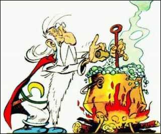 Bande-dessinée : quel est le métier de Panoramix dans «Astérix et Obélix» ?