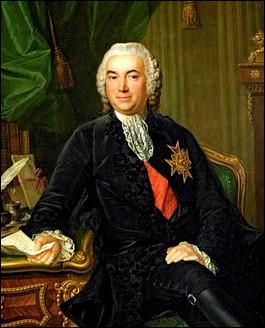 En pleine révolution française il aurait dit « Si le peuple n'a pas de grain, qu'il mange du foin ». Quel est ce surintendant des finances qui finit la tête décapitée ?