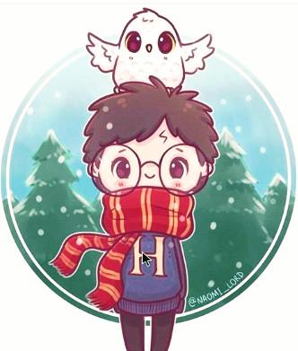Qui est ce personnage dans Harry Potter ? ~ version en dessin kawaii