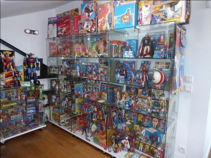 Par quel mot désigne-t-on la collection de jouets ?