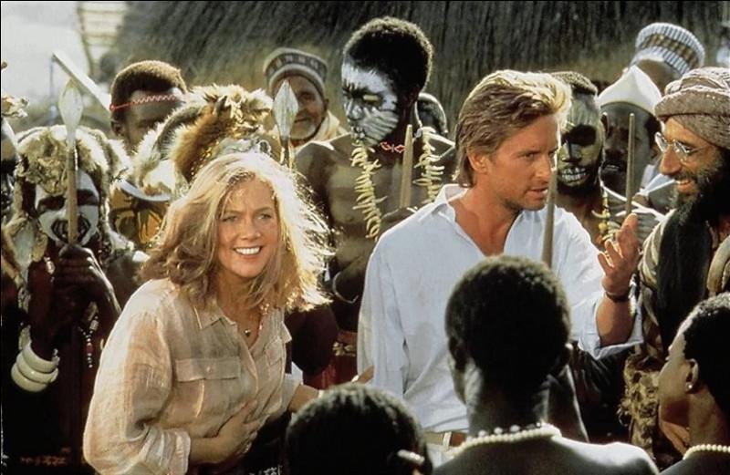 Complétez le titre du film d'aventure américain réalisé par Lewis Teague et sorti en 1985 ''Le Diamant du...''