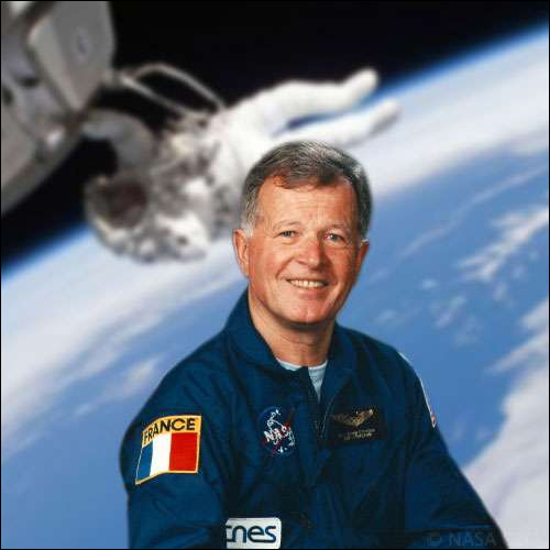 En 1982, je suis le premier Français, et même le premier Européen, à partir dans l'espace, avec le vaisseau Soyouz, pour rallier la station spatiale Saliout.Qui suis-je ?