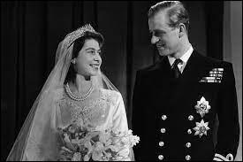 En quelle année la reine Elisabeth II a-t-elle épousé le prince Philip ?