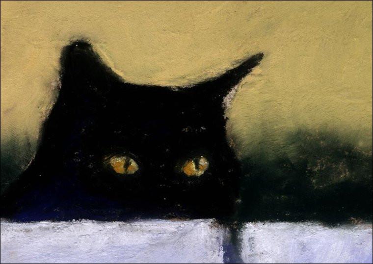 """Quel écrivain du XIXe est l'auteur de la nouvelle fantastique """"Le Chat noir"""" ?"""