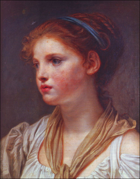 "Qui a peint ""Jeune fille au ruban bleu"" ?"