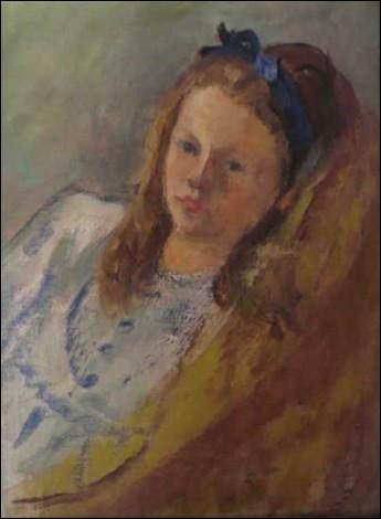 """Qui a fait le """"Portrait de Claude Martinais au ruban bleu"""" ?"""