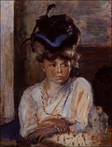 """Qui est le peintre du """"Chapeau au ruban bleu"""" ?"""