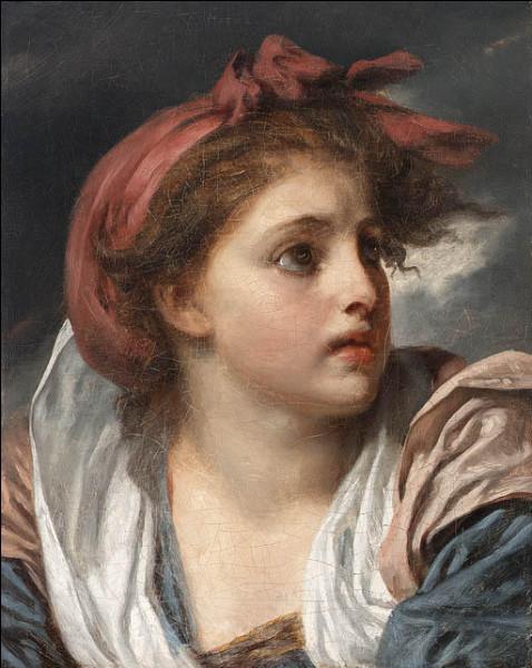 Qui a représenté cette fille avec un ruban rouge dans les cheveux ?