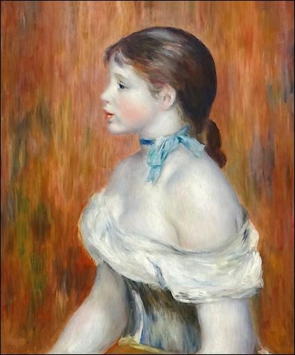 """Qui a peint """"La Petite Fille au ruban bleu"""" ?"""
