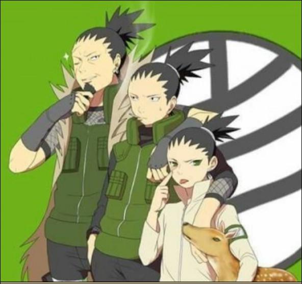 Qui fait partie du clan Nara ?