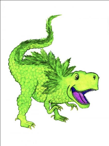 Comment s'appelle le T-rex qu'élèvent Grady et Edaline ?