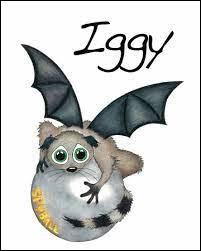 Iggy est l'animal de compagnie de Sophie. De quelle créature s'agit-il ?