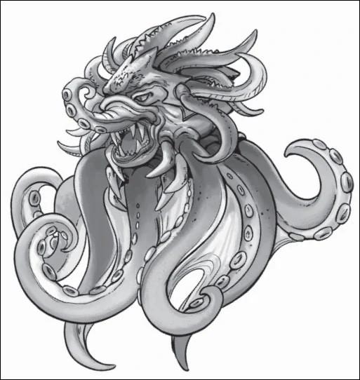 Dans combien de tomes un Kraken fait-il son apparition ?