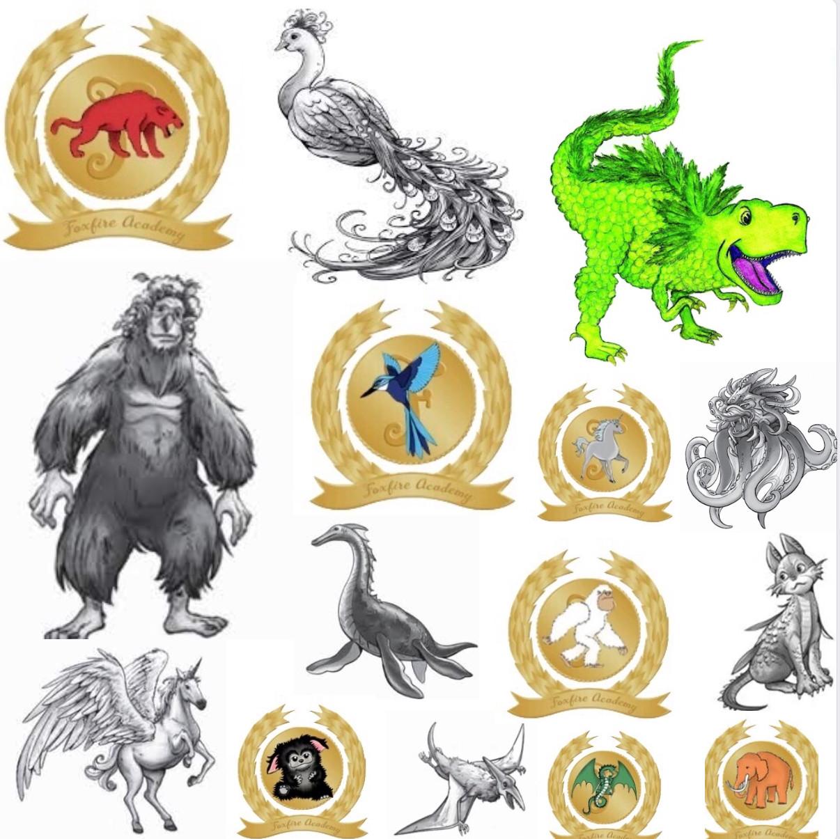 Gardiens des Cités Perdues - Les créatures