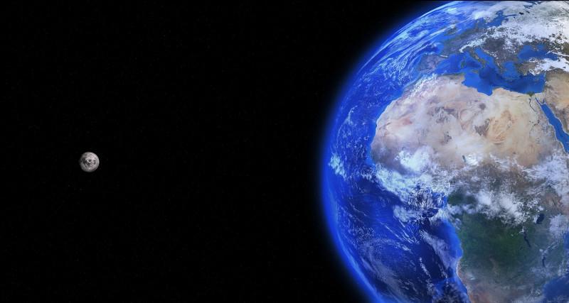 En 1990, des astronomes ont mesuré la distance moyenne Terre/ Lune grâce à un rayon laser. Ils ont trouvé 400 000 kilomètres, avec une incertitude absolue de seulement 2 centimètres. Quelle est l'incertitude relative de cette mesure ?