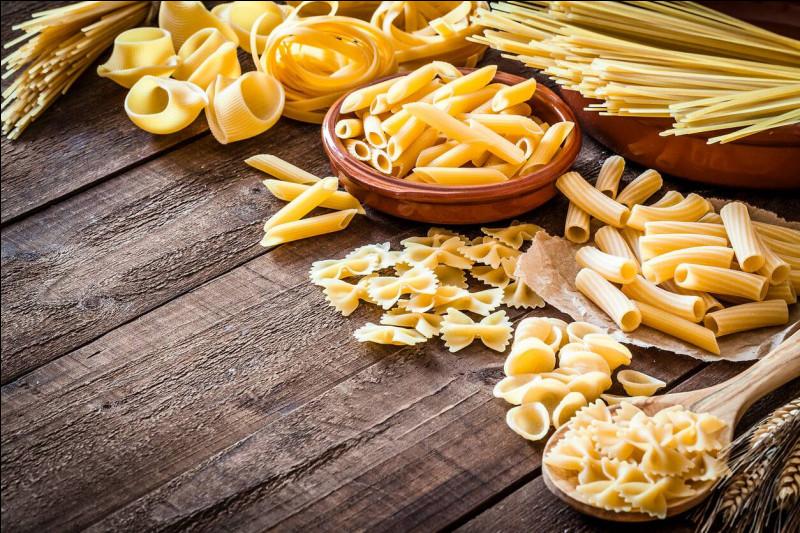 Une question facile, de quel pays les pâtes sont-elles originaires ?