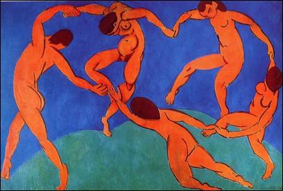"""Quel est le peintre du tableau """"La Danse"""" réalisé en 1909 ?"""