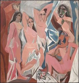 Ce tableau réalisé à Paris par Pablo Picasso en 1907 suscita pas mal de polémiques. Quel est son titre ?