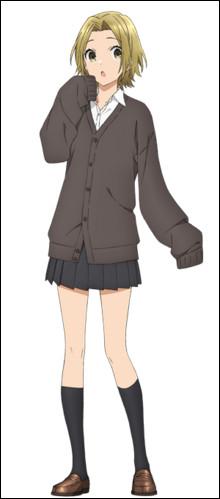 """Dans l'adaptation anime d'""""Horimiya"""", l'histoire des protagonistes est mêlée avec celles des personnages qui les entourent, ce qui rend l'œuvre difficile à suivre. Parmi les histoires annexes se trouve celle de ce personnage. Qui est-elle ?"""
