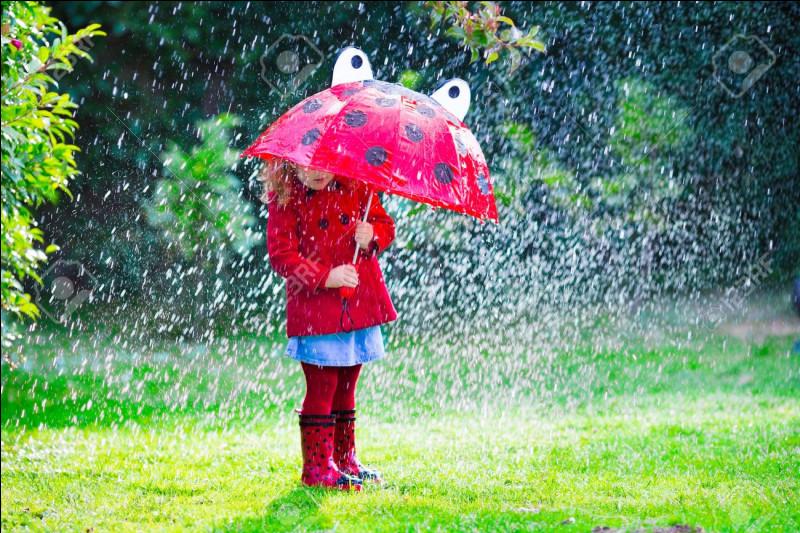 """À quel chanteur doit-on le titre """"Un enfant assis attend la pluie"""" ?"""