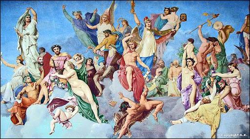 Trouvez l'intruse parmi ces déesses de la mythologie grecque.