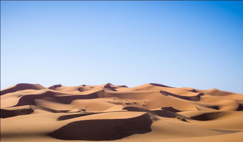 Quel désert a la plus grande superficie ?