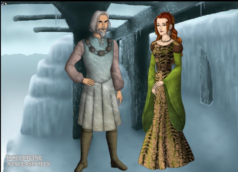 Fárbauti, mari de Laufey, eu 3 enfants parmi lesquels se trouve...